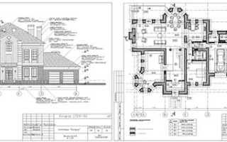 Планировка дома – готовые чертежи и планы домов