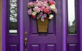 Деревянные входные двери для частного дома