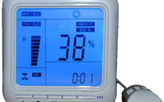 Автоматический контроль и поддержание влажности и температуры в теплице