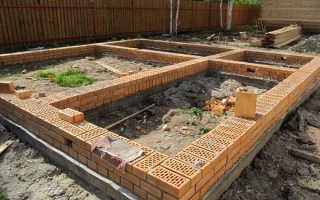 Строительство бани из дерева или кирпича