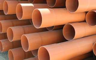 Трубы ПВХ: поливинилхлоридная для водопровода, диаметры и размеры, напорные НПВХ