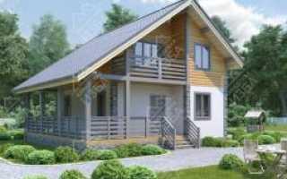 Строительство домов в стиле шале под ключ, проекты и цены