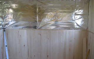 Фольга для бани: грамотный выбор материала и инструкция по монтажу на стены и потолок