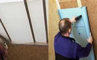 Пароизоляционная пленка – какой стороной к утеплителю укладывать, как правильно крепить пароизоляцию к потолку, полу и стенам + видео