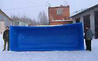 Пластиковые бассейны для дачи от производителя