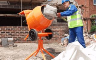 Работа на бетономешалке должна проходить строго по инструкции +видео