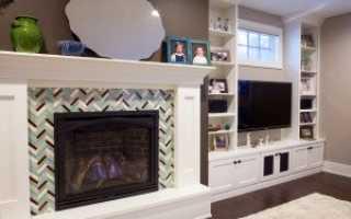 Плитка для печей и каминов: 9 термостойких видов с фото