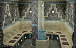 Турецкая баня хамам (фото и видео)