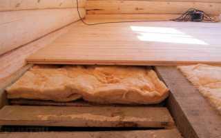 Как правильно сделать полы в деревянном доме своими руками