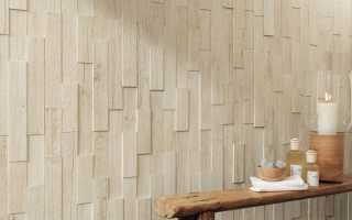 Деревянная плитка: видео-инструкция по монтажу своими руками, особенности настенных