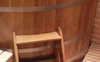 Купель для бани – интересные варианты и изготовление своими руками