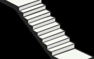 Монолитные лестницы: заказать в Москве бетонные лестницы на второй этаж, невысокие цены на лестницы из бетона