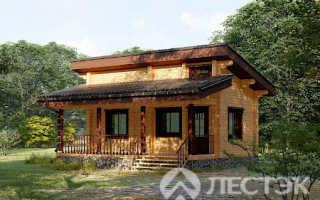 Одноэтажные дома из бруса под ключ – проекты, цены и фото (Москва)