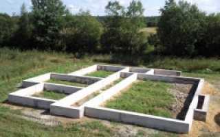 Фундамент под кирпичный дом: как построить своими руками из кирпича