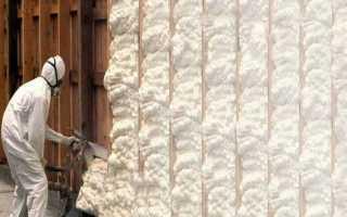 Пена для утепления стен: монтажный утеплитель в баллонах, полиуретановые варианты для крыши и фасада дома