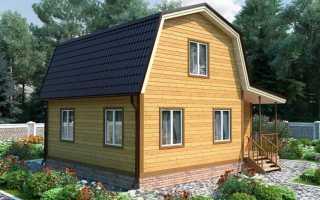 Проект и планировка садового домика – готовые планы и чертежи маленьких домов