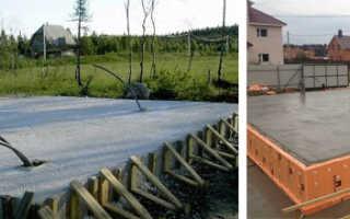 Расчет толщины для плиты фундамента: монолитное основание для дома из газобетона
