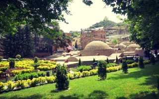 Серные бани в Тбилиси, собственный опыт