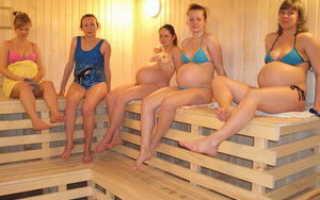Можно ли беременным ходить в баню?