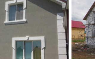 Технология мокрый фасад: устройство, утепление, монтаж, видео-инструкция (+фото и видео)