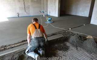 Сколько надо цемента и песка на куб раствора для стяжки пола?