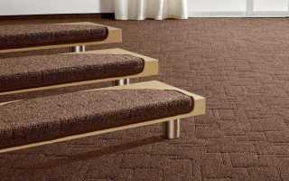 Резиновая накладка на ступени лестниц: пошаговая инструкция