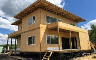 Частный дом из СИП (SIP) панелей – обзор всех преимуществ + 150 фото