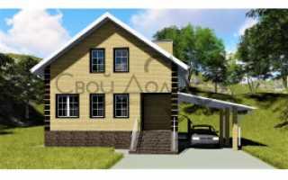 Купить проекты домов с цоколем и мансардой с любой площадью на выбор