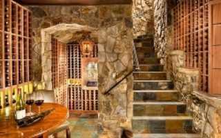 Отделка подвала частного дома – особенности, идеи, материалы