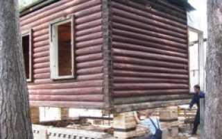 Замена нижних венцов деревянного дома своими руками – инструкция с видео